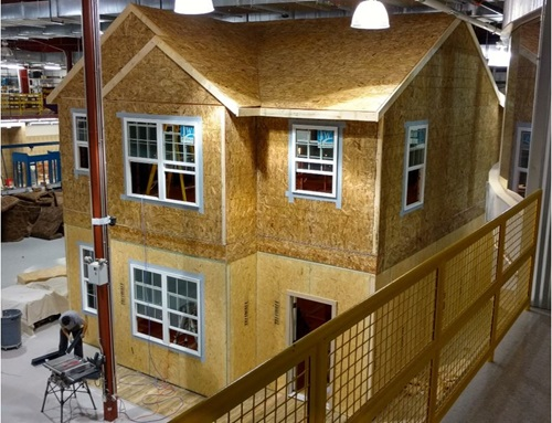 Two-Story House in Home Innovation's Lab Facility