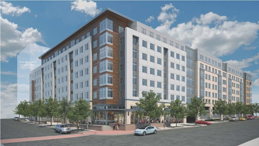 Towson Row Student Housing, Towson, MD, Registered, NGBS Green Certification In-process