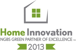 2013 Home Innovation NGBS Green Partner of Excellence