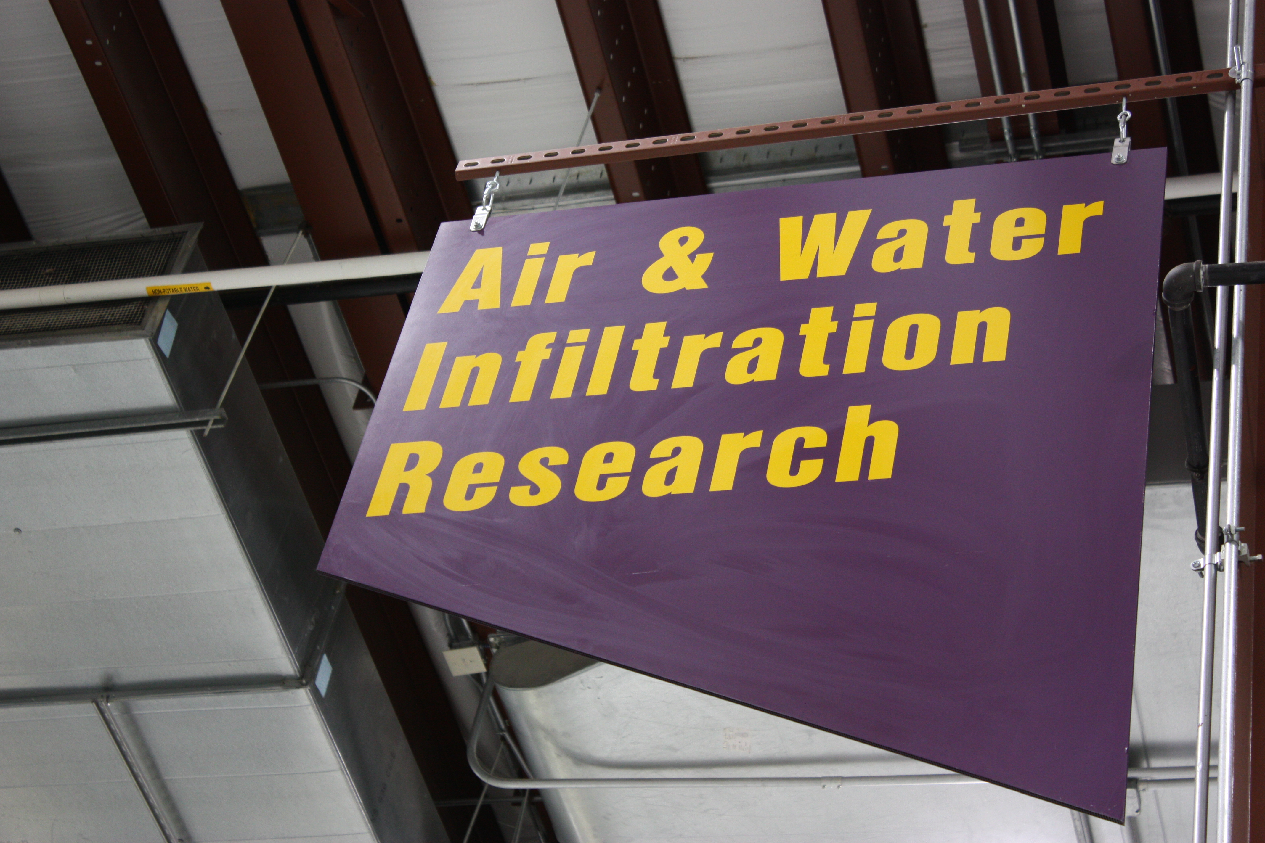 Air and Water Infiltration Research