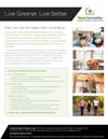 B2C NGBS Green Living Flyer