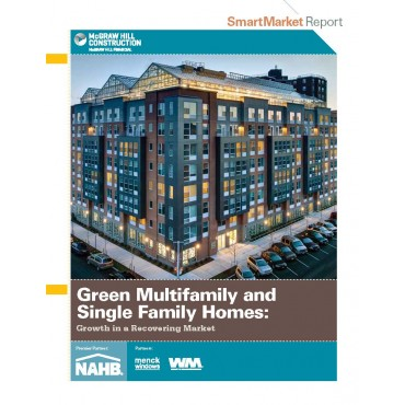McGraw Hill Construction Green Multifamily and Single Family Homes SmartMarket Report (2014)