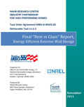 """Best in Class"" Report: Energy Efficient Exterior Wall Design (Mixed Humid Climate)"