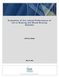 Evaluation of the Lateral Performance of Let-In Bracing and Mixed Bracing Systems