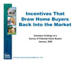 Incentives That Draw Home Buyers Back Into the Market