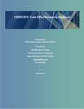 2009 IECC  Cost Effectiveness Analysis