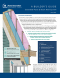 A Builder's Guide - Extended Plate & Beam Wall System - 2016