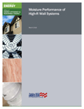 Moisture Performance of High-R Wall Systems