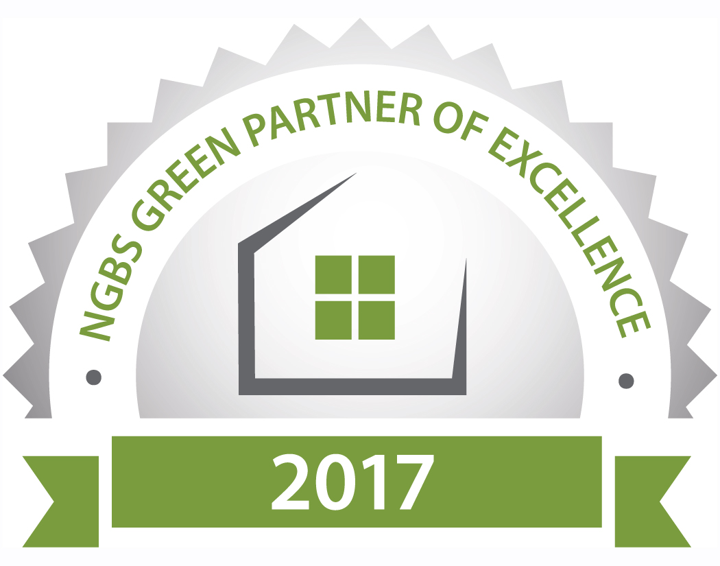 2017 NGBS Green Partner of Excellence Seal