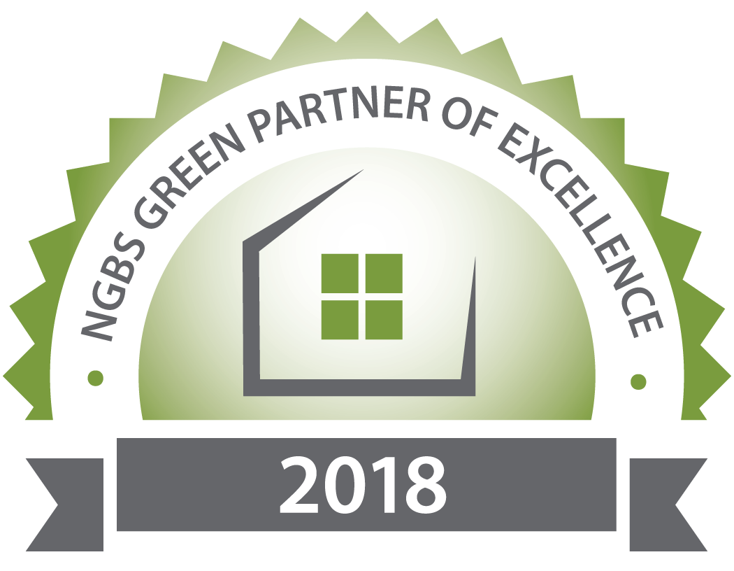 2018 NGBS Green Partner of Excellence Seal