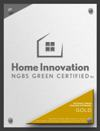 NGBS Green Certified Sample Plaque